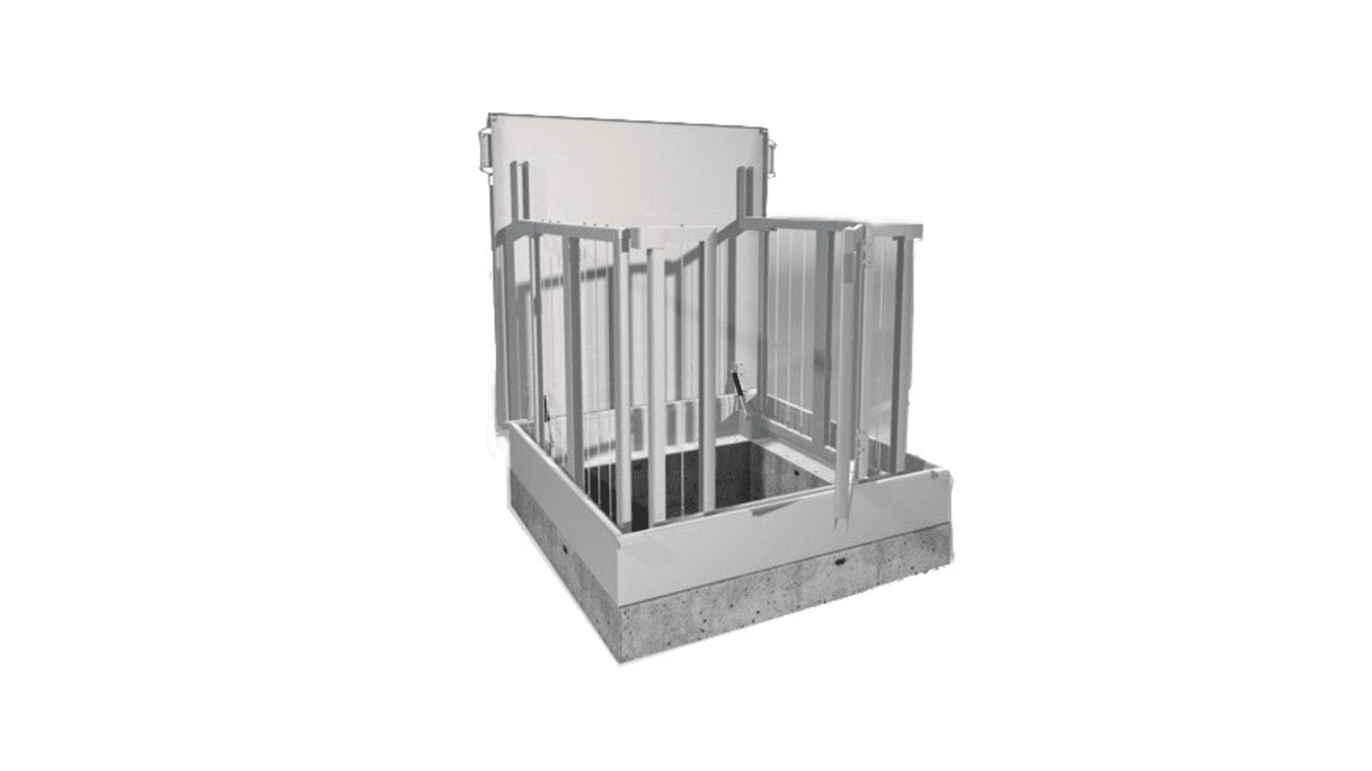 SECURA FLOOR GATE 1