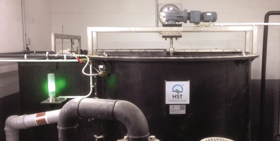 Intelligent wastewater treatment in the metal-processed industry 1
