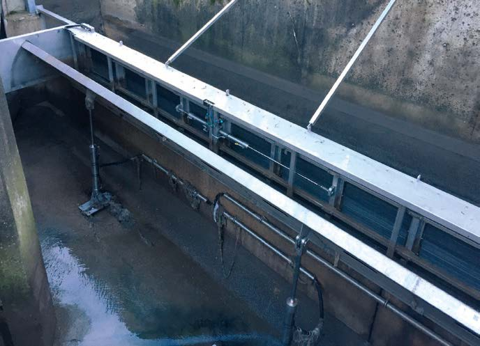 Waters are particularly protected by HSR rakes with IntelliScreen