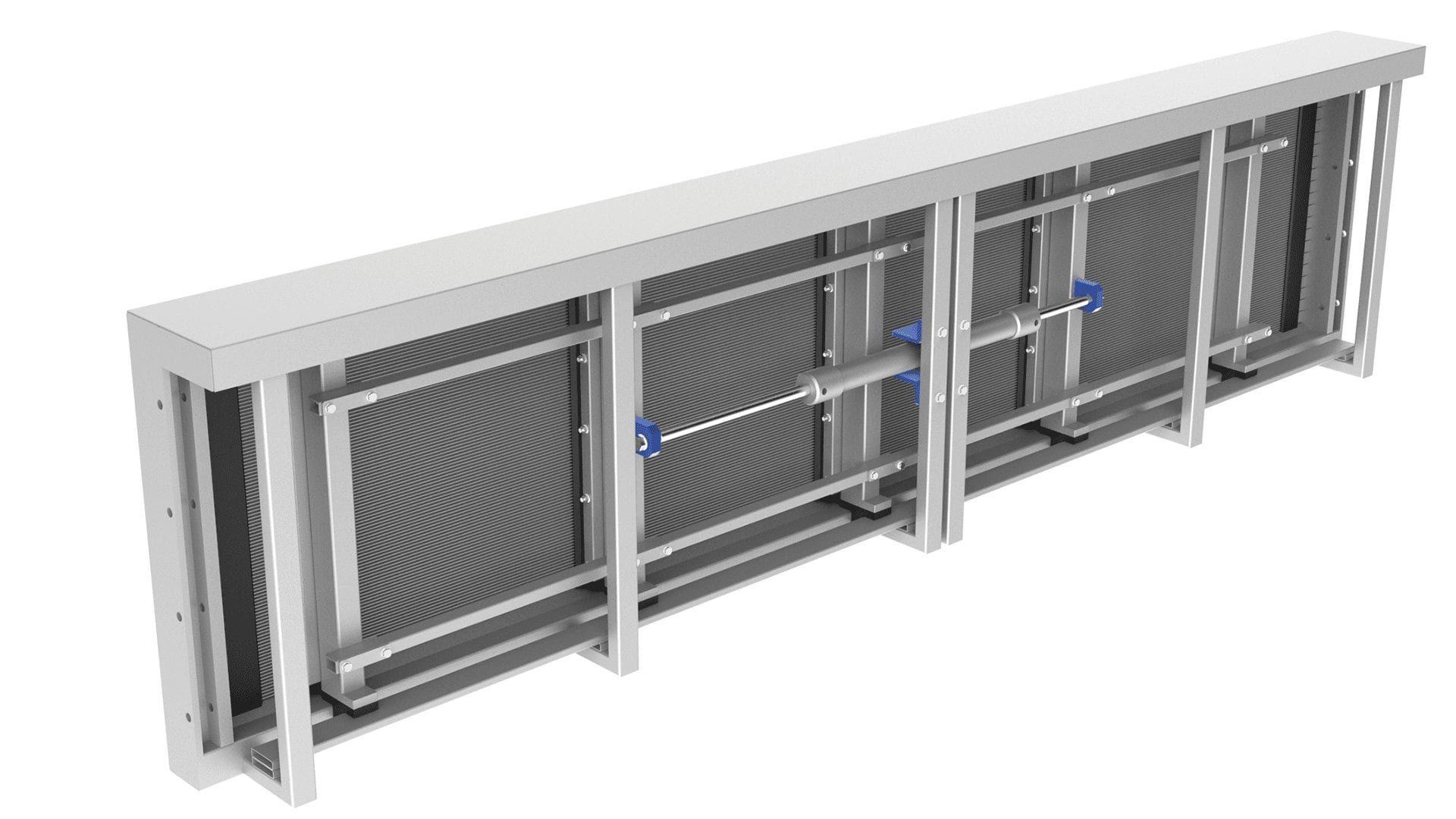 Floating Material Retention (HSR-Screen)